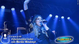 Foto Quintal da Clube com Marília Mendonça 155