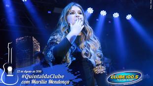 Foto Quintal da Clube com Marília Mendonça 157