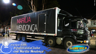 Foto Quintal da Clube com Marília Mendonça 170
