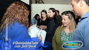 Foto Quintal da Clube com Jota Quest 1