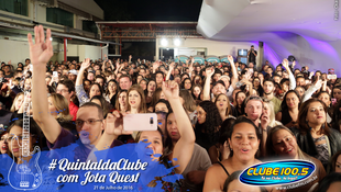 Foto Quintal da Clube com Jota Quest 43
