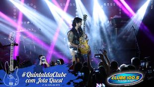 Foto Quintal da Clube com Jota Quest 100