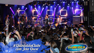 Foto Quintal da Clube com Jota Quest 130