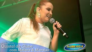 Foto Quintal da Clube com Maiara & Maraísa 1