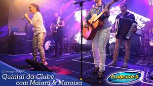 Foto Quintal da Clube com Maiara & Maraísa 4