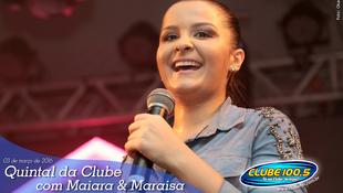 Foto Quintal da Clube com Maiara & Maraísa 7