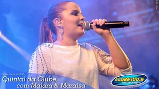 Foto Quintal da Clube com Maiara & Maraísa 8