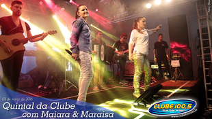Foto Quintal da Clube com Maiara & Maraísa 10