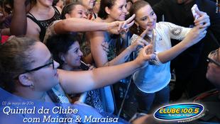 Foto Quintal da Clube com Maiara & Maraísa 11