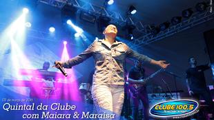 Foto Quintal da Clube com Maiara & Maraísa 12