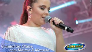 Foto Quintal da Clube com Maiara & Maraísa 17