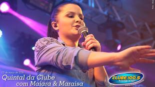 Foto Quintal da Clube com Maiara & Maraísa 100