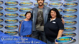 Foto Quintal da Clube com Victor & Leo 1