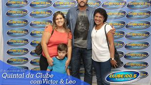 Foto Quintal da Clube com Victor & Leo 7