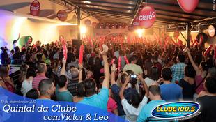 Foto Quintal da Clube com Victor & Leo 23