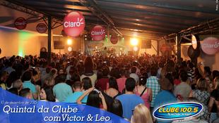 Foto Quintal da Clube com Victor & Leo 28