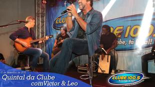 Foto Quintal da Clube com Victor & Leo 50