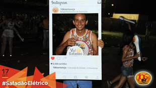 Foto Fotos da galera no #SafadãoElétrico 454
