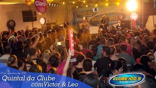 Foto Quintal da Clube com Victor & Leo 66