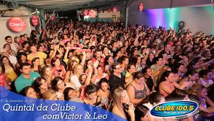 Foto Quintal da Clube com Victor & Leo 76