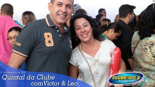 Foto Quintal da Clube com Victor & Leo 90