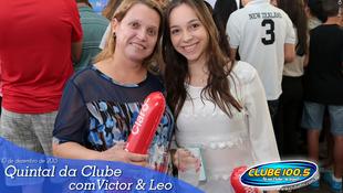 Foto Quintal da Clube com Victor & Leo 92