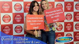 Foto Quintal da Clube com Victor & Leo 100
