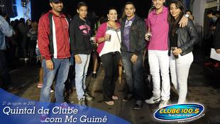 Foto Quintal da Clube com Mc Guimê 1