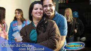 Foto Quintal da Clube com Mc Guimê 7