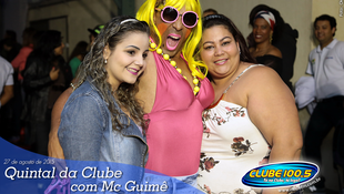 Foto Quintal da Clube com Mc Guimê 10