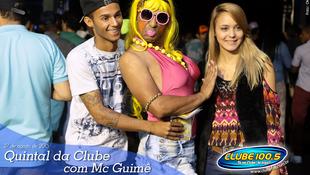 Foto Quintal da Clube com Mc Guimê 13