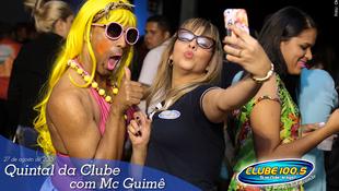 Foto Quintal da Clube com Mc Guimê 16
