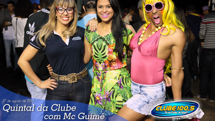 Foto Quintal da Clube com Mc Guimê 17