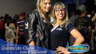 Foto Quintal da Clube com Mc Guimê 20