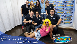 Foto Quintal da Clube com Mc Guimê 35