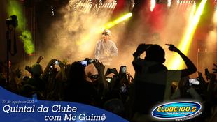 Foto Quintal da Clube com Mc Guimê 46