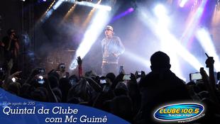 Foto Quintal da Clube com Mc Guimê 54