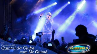 Foto Quintal da Clube com Mc Guimê 56