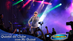 Foto Quintal da Clube com Mc Guimê 57