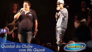Foto Quintal da Clube com Mc Guimê 62