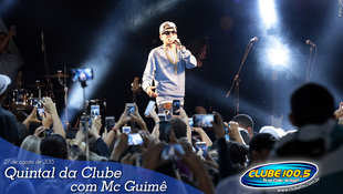 Foto Quintal da Clube com Mc Guimê 64