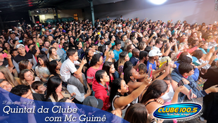 Foto Quintal da Clube com Mc Guimê 68