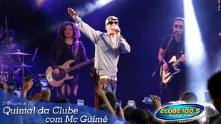 Foto Quintal da Clube com Mc Guimê 77