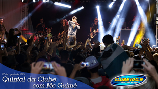 Foto Quintal da Clube com Mc Guimê 78