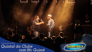 Foto Quintal da Clube com Mc Guimê 85