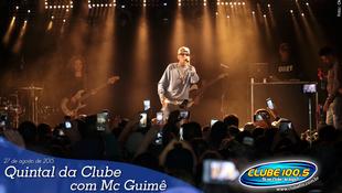 Foto Quintal da Clube com Mc Guimê 88