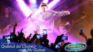 Foto Quintal da Clube com Mc Guimê 90