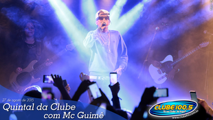 Foto Quintal da Clube com Mc Guimê 91