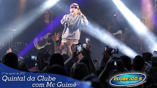 Foto Quintal da Clube com Mc Guimê 95