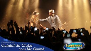 Foto Quintal da Clube com Mc Guimê 105